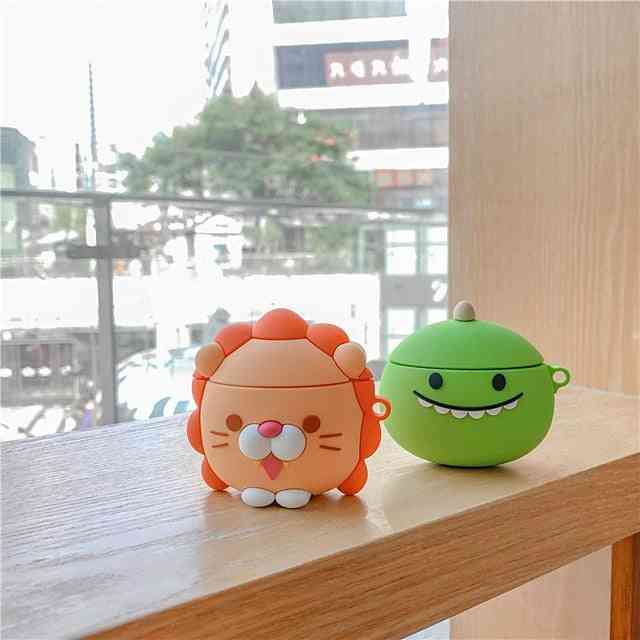 Case For Airpods Cute / Dustproof / Cool Headphone Case
