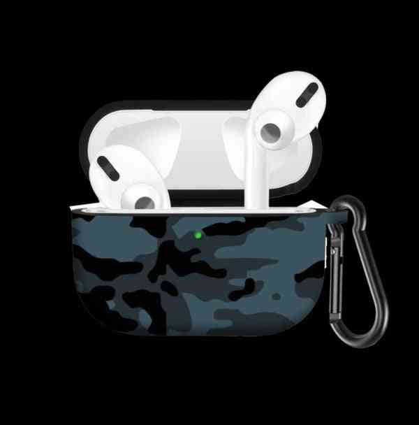 Airpods Pro Army Silicone Case Cover