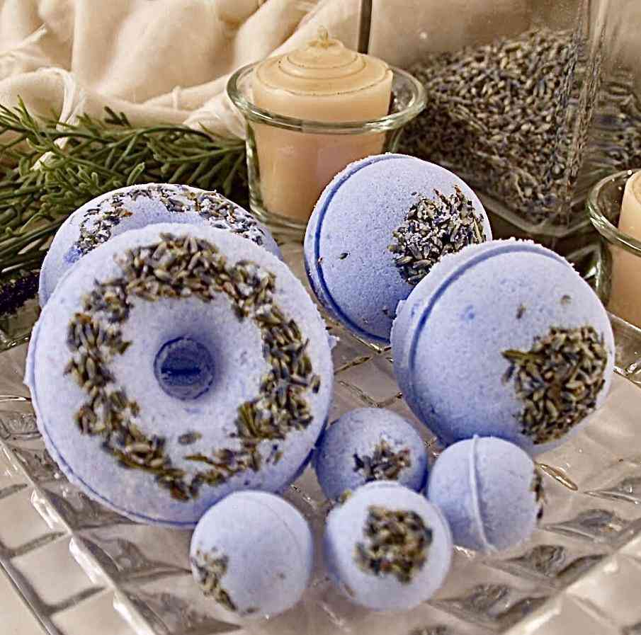 Lavender Blossom Bath Bomb