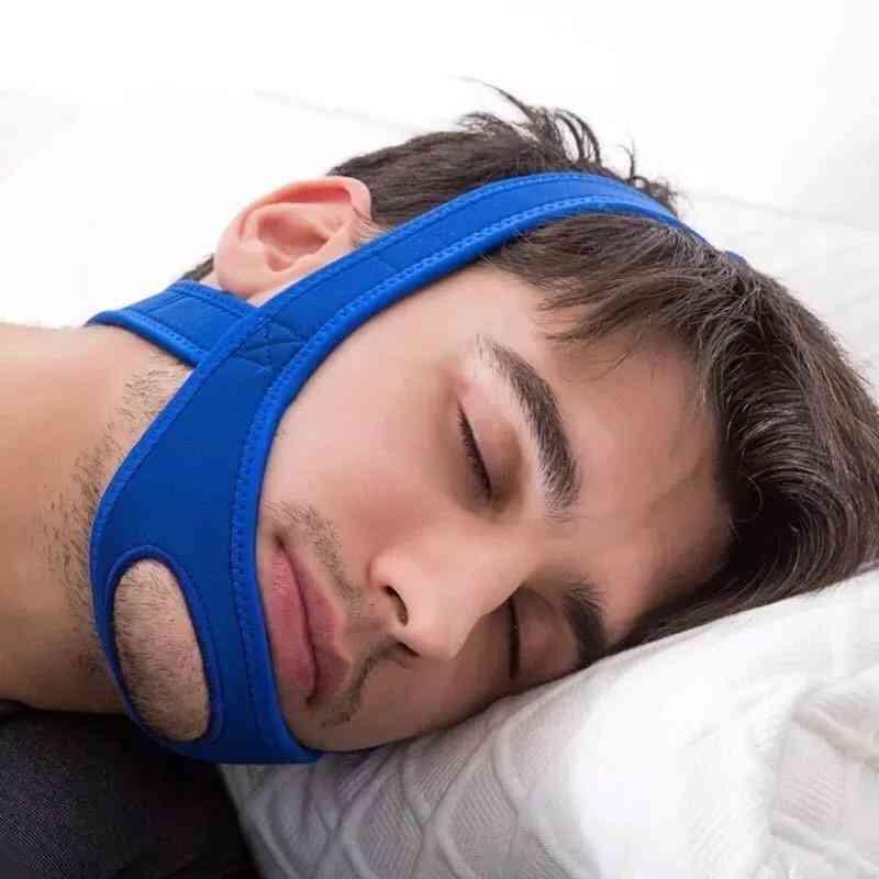 Neoprene Anti-snore Stop Snoring Chin Strap Belt Anti Apnea