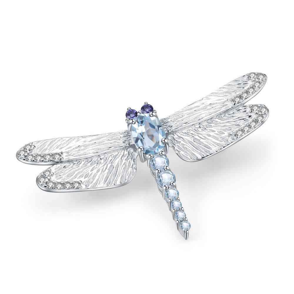Handmade Dragonfly Brooch