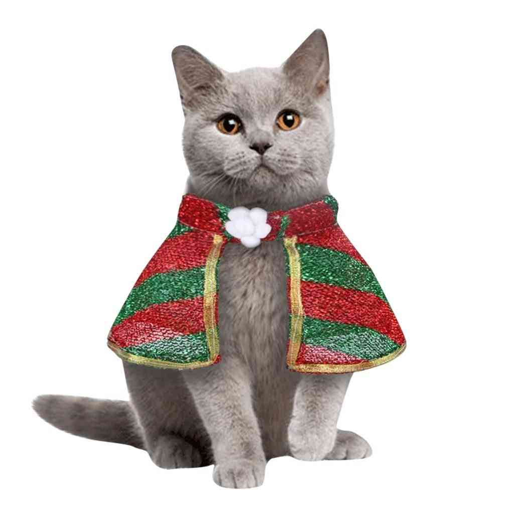 Cat & Dog Christmas Cosplay Clothing Lovely Winter Jackets Outfits