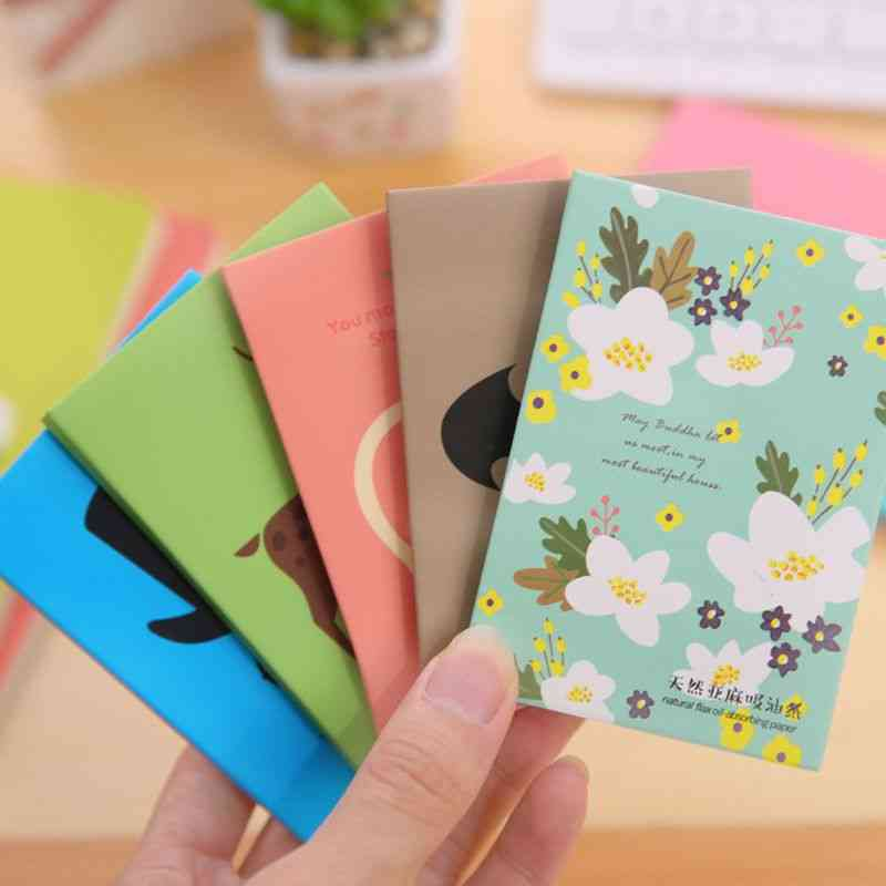 Makeup Cleansing And Oil Absorbing Tissue Papers