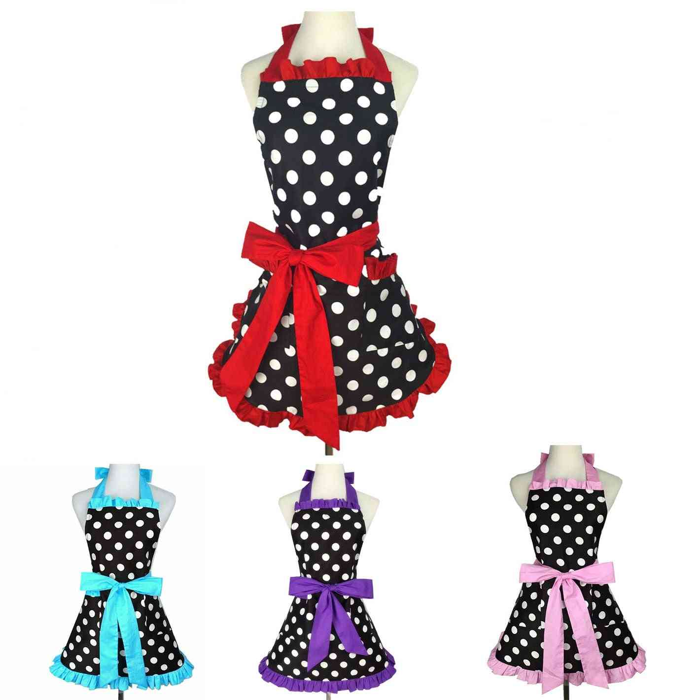 Lovely Apron Cooking Work Waterproof & Oilproof Clothes