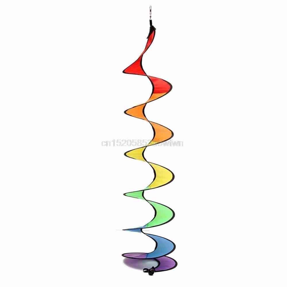 Rainbow Spiral Windmill Tent Colorful Kids