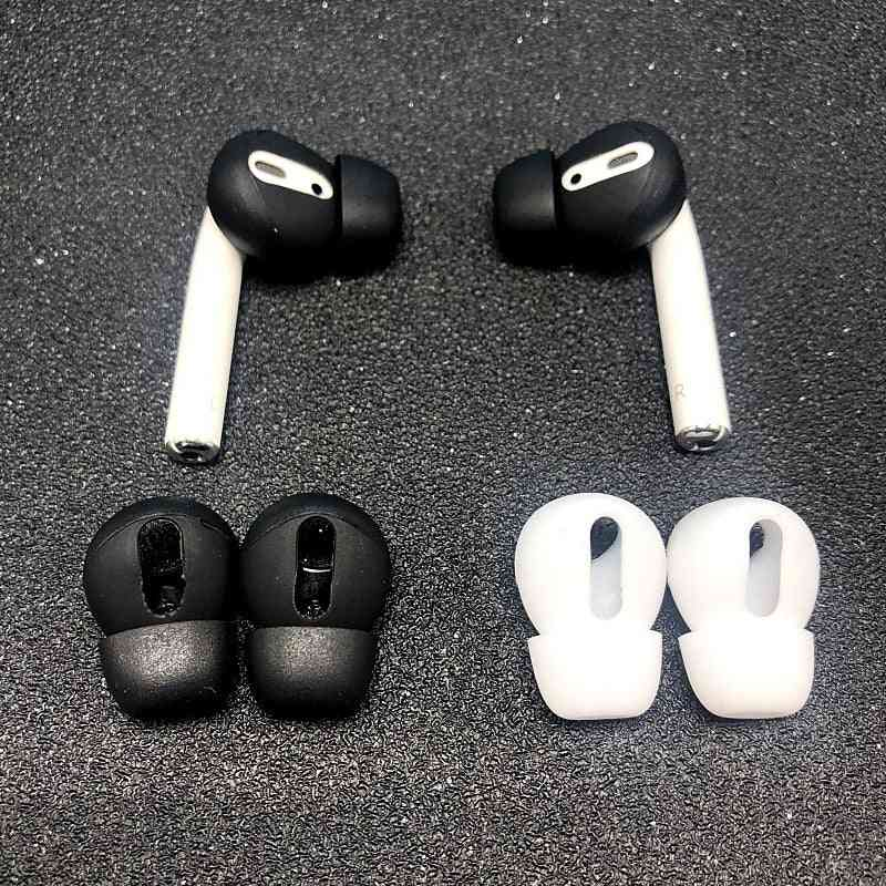 Ear Pads For Airpods 1/2 Wireless Bluetooth Iphone Earphones Silicone Cover