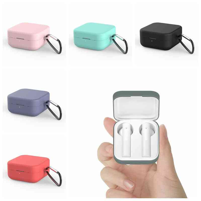 Silicone Protective Earphone Case For Xiaomi Air 2 Se Bluetooth Headphones Box