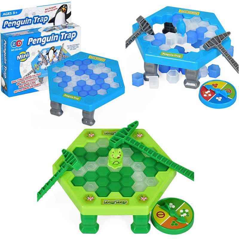 Interactive Game Break Ice Block Hammer Penguin Trap Game Toy