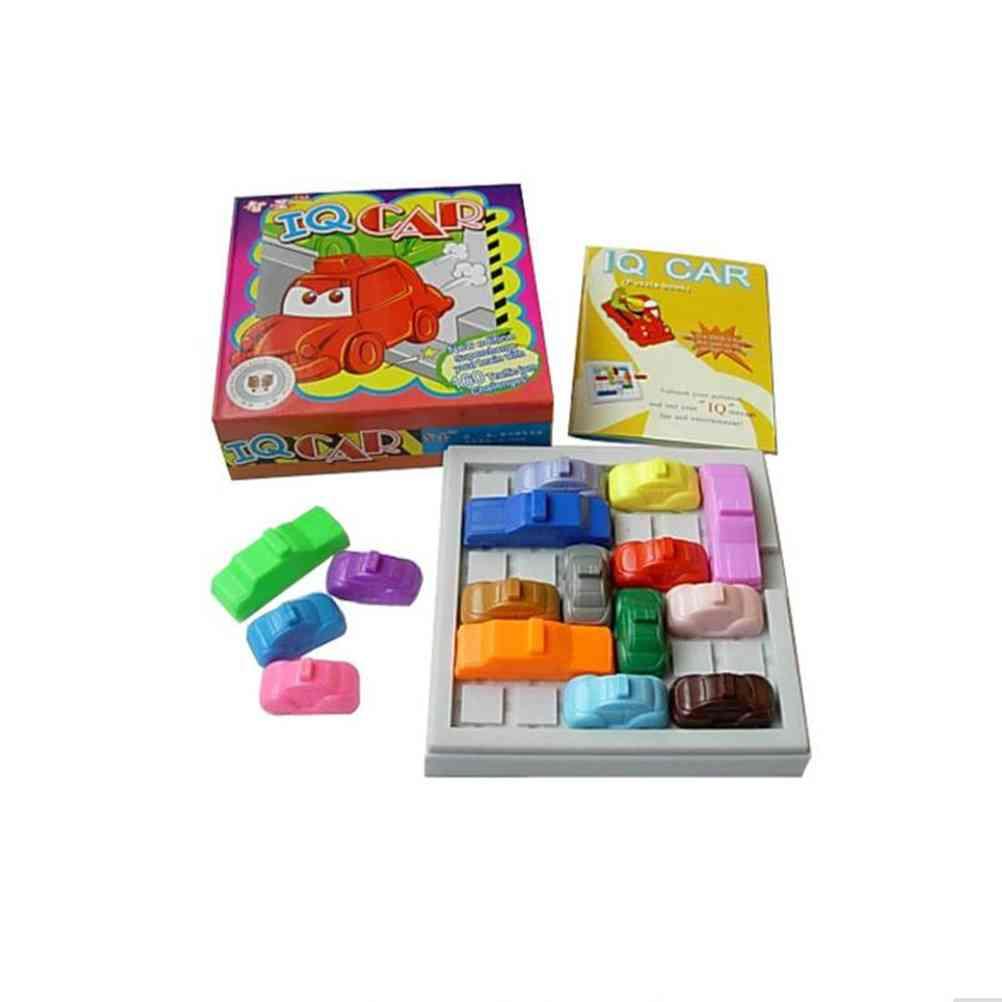 1 Set 3d Puzzles Car Model Maze Parking Geometric Puzzle Educational Toy