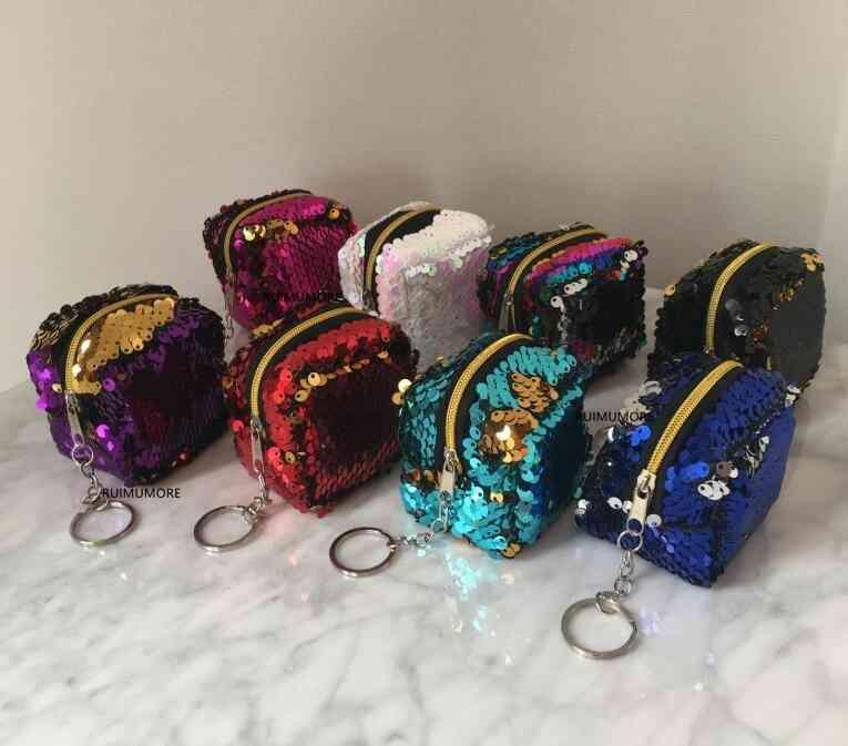 Multi-colors Size 6*3cm Approx. Plush, Toy Purse Bag