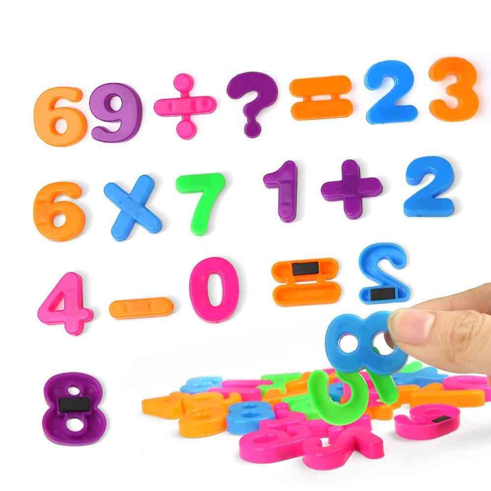 26pcs/set English Letters Alphabet Puzzle Colorful Fridge Sticker Educational Toy