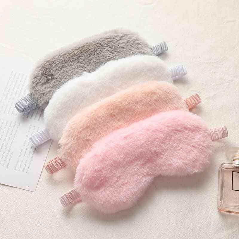 Sleeping Blindfold Soft Plush Eye Masks And Cute Love Cloud Eye Cover