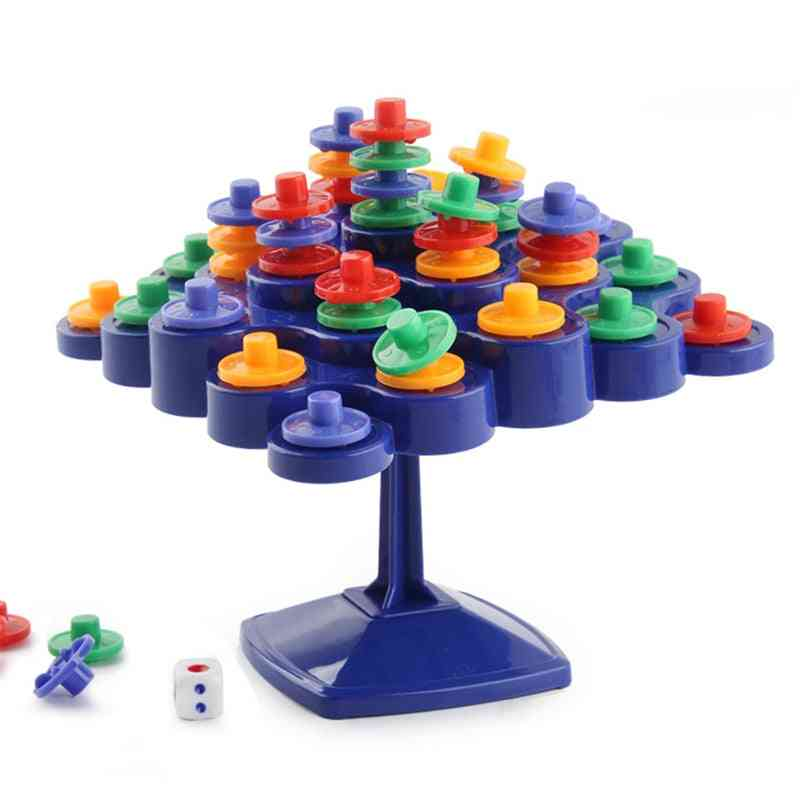 Novelty Balance Turntable Stacking Board For Parent-child Activity Boosting Kids Iq Toy  (random)