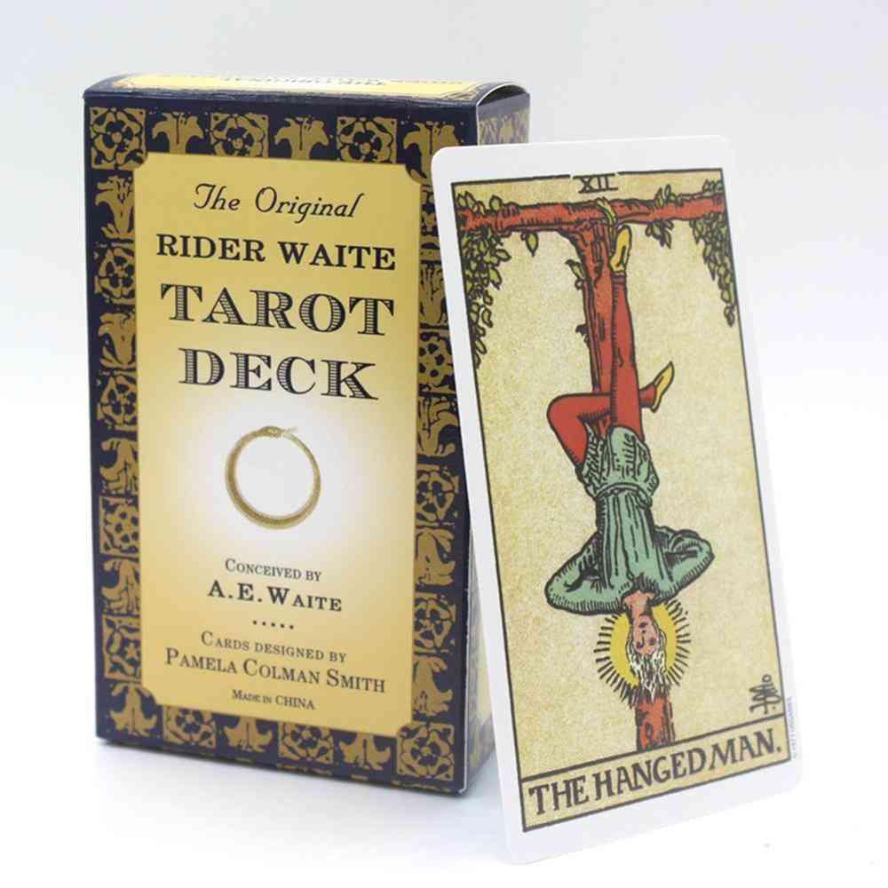 78pcs Original Rider Waite Tarot Deck Full English Tarot Card