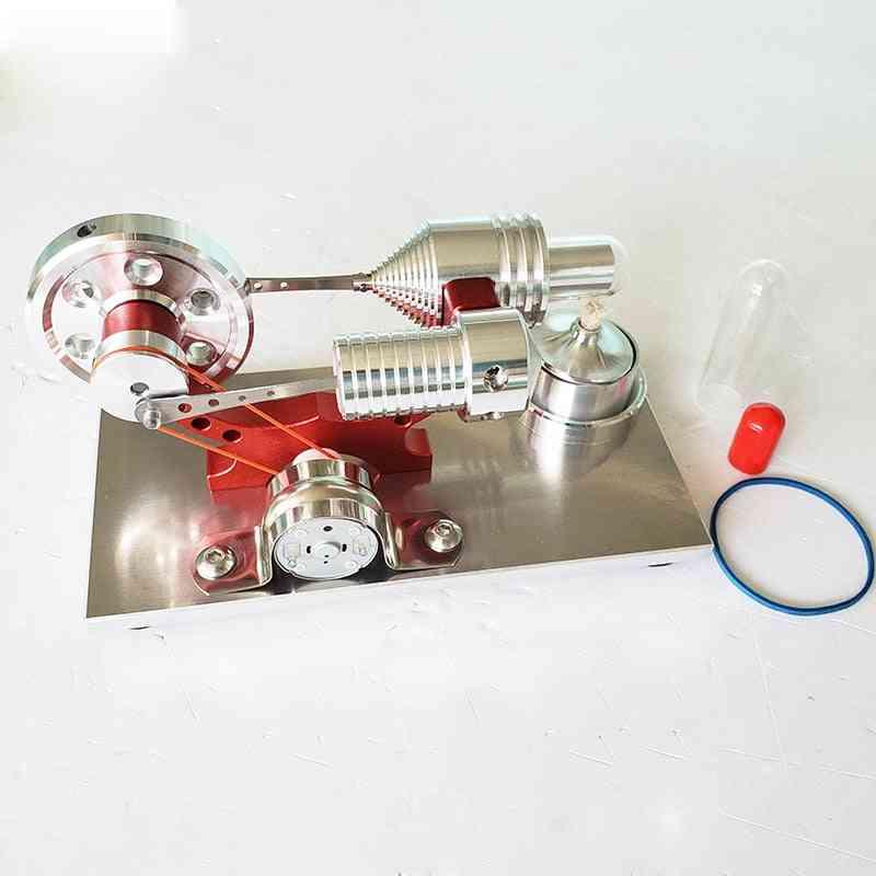 Stirling Steam Generator Engine Micro Model