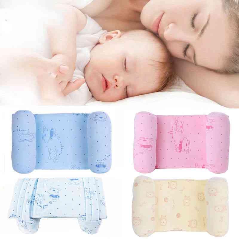 Cute Baby Pillows, Adjustable Memory Foam Support Newborn Infant Sleep