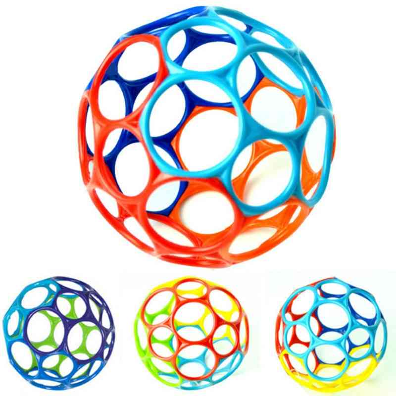 Large Rattle Educational Grasping Holes Balls