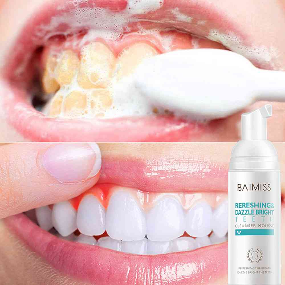 Baimiss Fresh Shining Tooth-cleaning Mousse Toothpaste