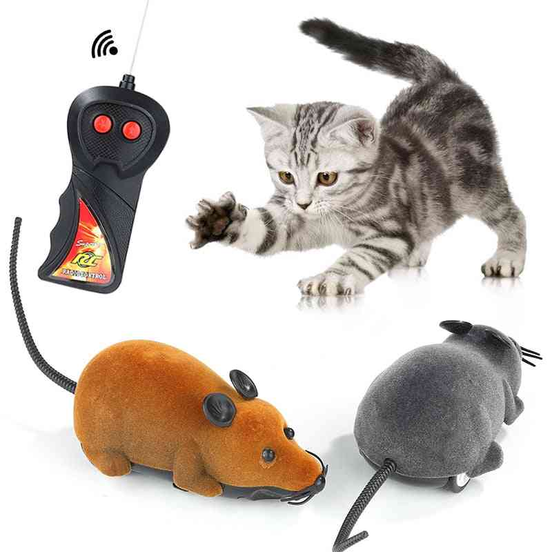Cat Remote Control Wireless Rc Simulation Mouse Toy