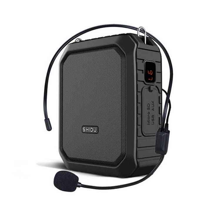 Portable Voice Amplifier Wireless Microphone Bluetooth Audio Speaker For Teachers