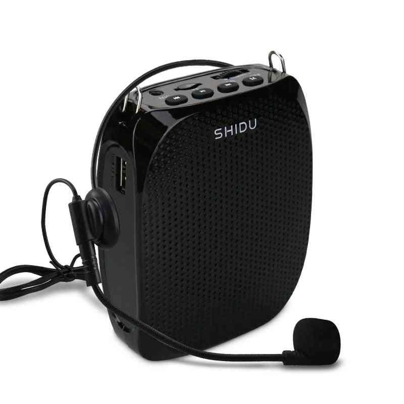 10w Voice Amplifier Wired Microphone Mini Audio Speaker For Teacher