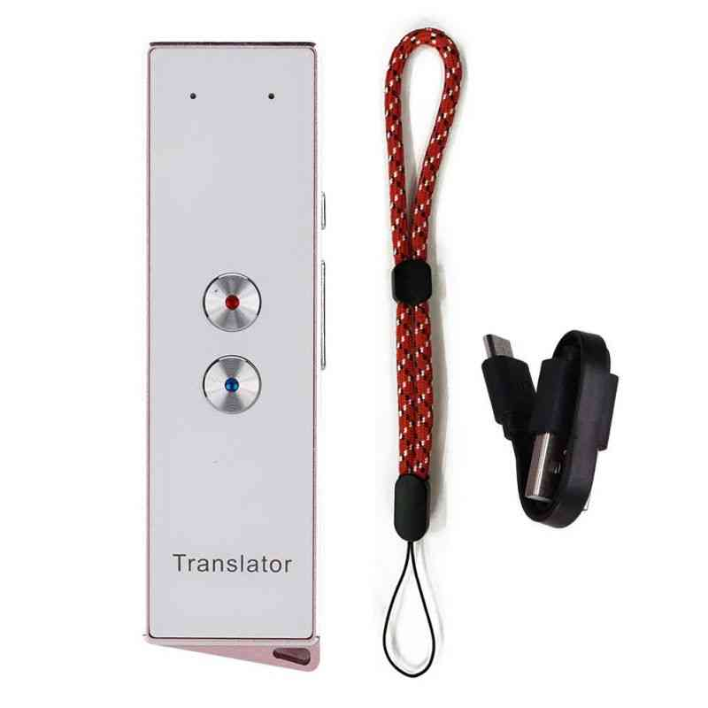 Itranslator Smart Voice Portable Two-way Real Time Multi-language Translator