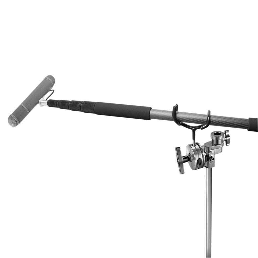 Newest Metal Microphone Boom Pole Support Holder Recording Bracket Professional For C-stand