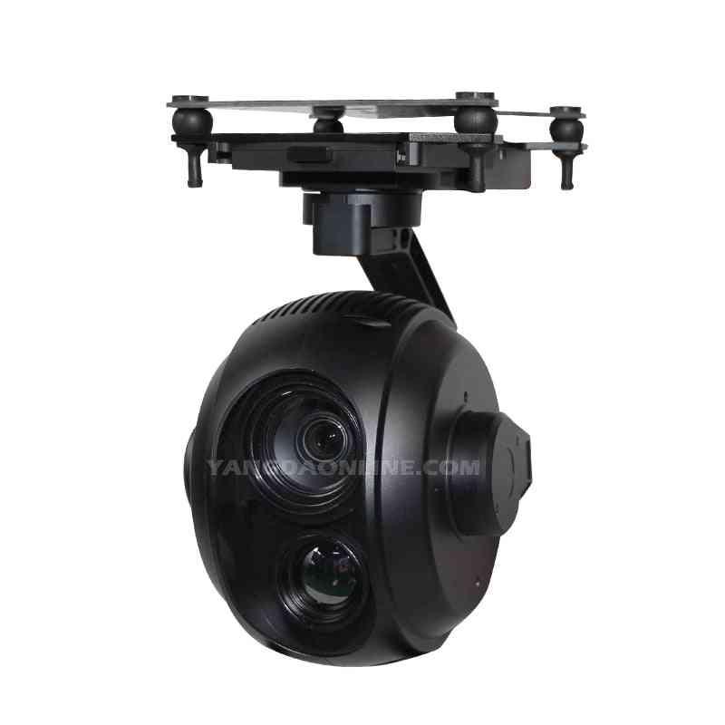 Drone Zoom Camera 30x Eoir Dual Sensor Stellar Gimbal Inspection Surveillance Search Rescue Applications