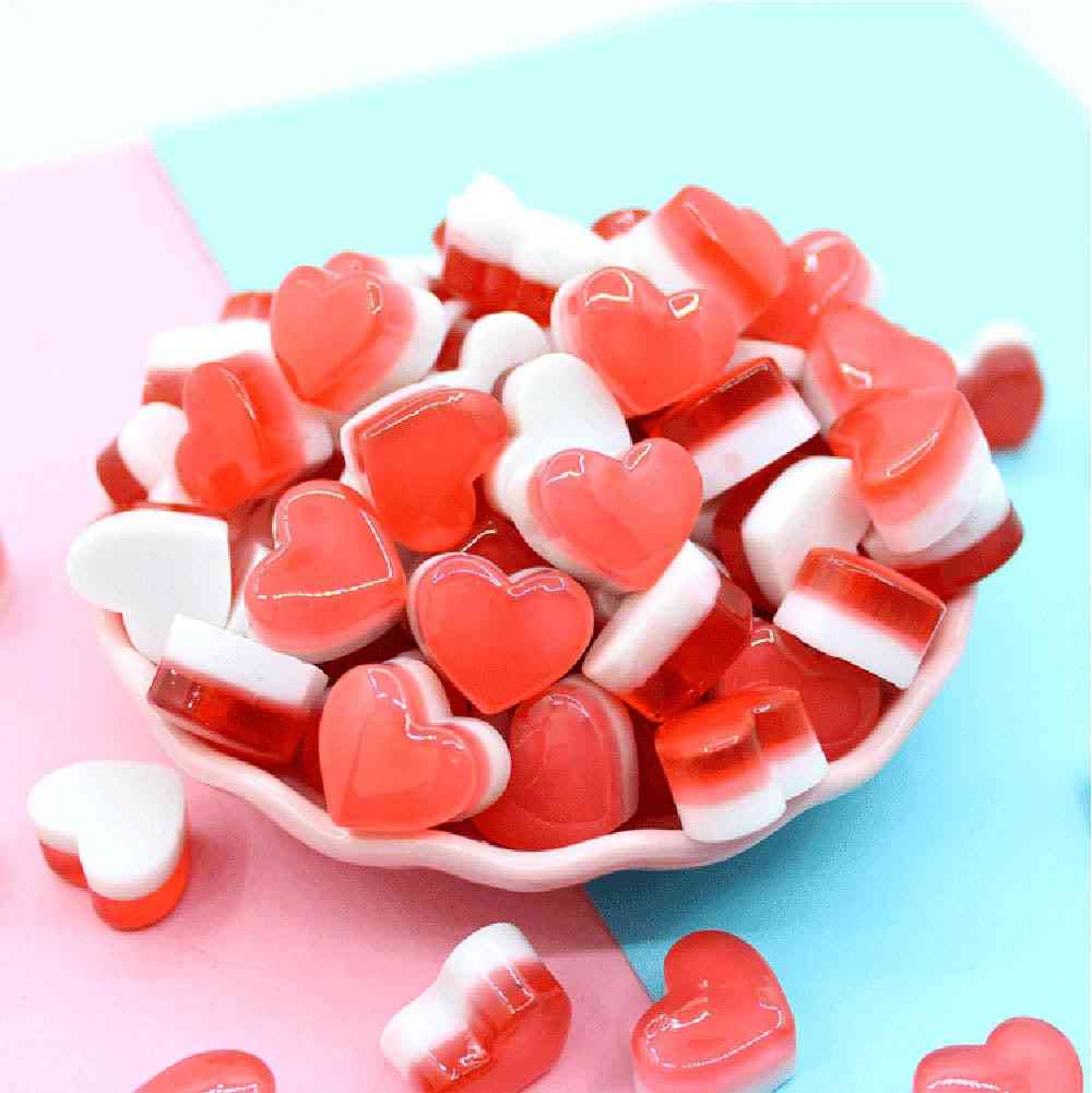 Cute Heart Candy Phone Case Decoration