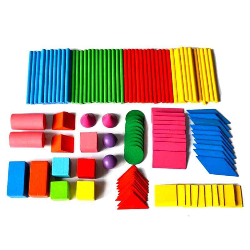 Counting Sticks Mathematics Montessori Teaching Aids Kids Math Learning Toy