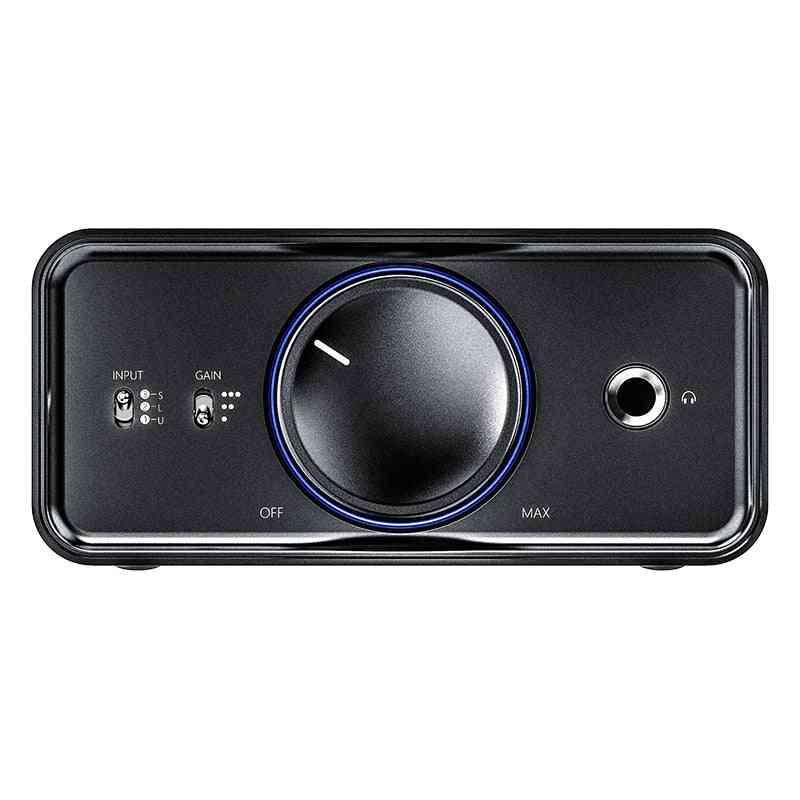 Hifi Audio Headphone Amplifier (black)