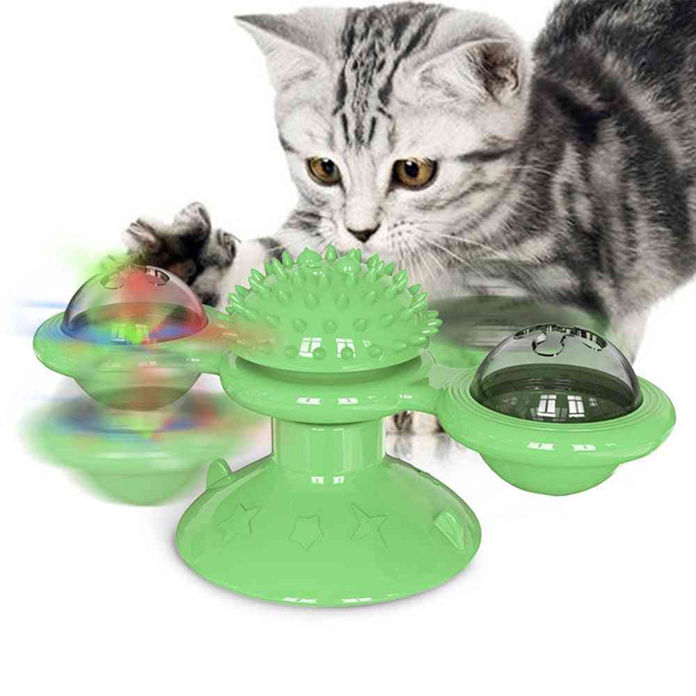 Pet Dog & Cat Tickle Ball Puzzle Toy