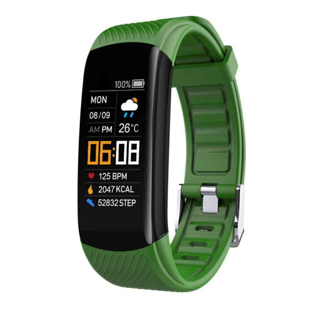 Bluetooth Waterproof Heart Rate Sleep Monitor Fitness Sports Smart Bracelet