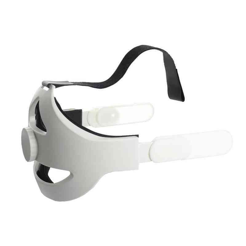 Adjustable For Oculus Quest 2 Head Strap Vr Elite Access Supporting Forcesupport Reality Strap (white)