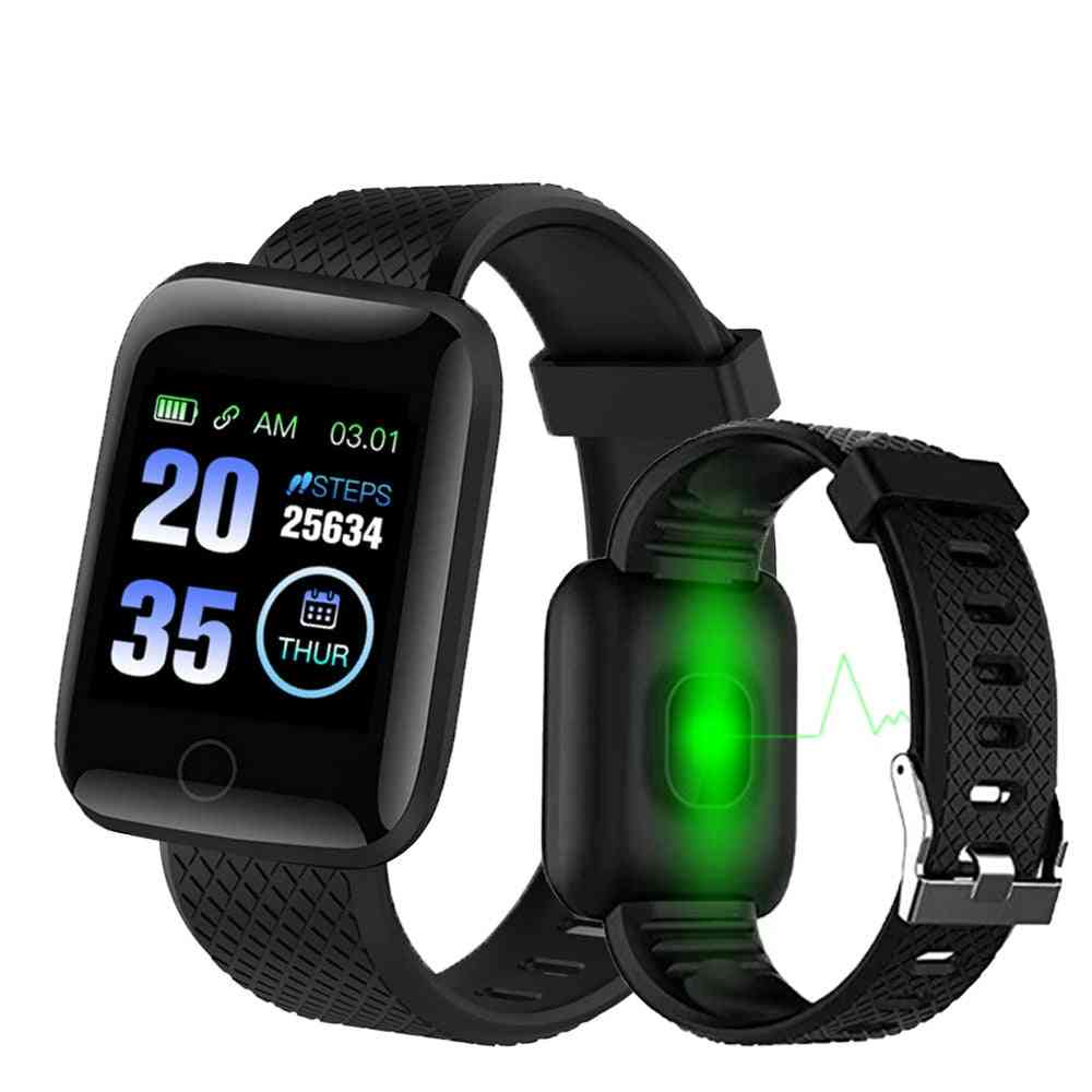 D13- Plus Heart Rate Wristband, Sports Band Waterproof Smart Watch For Android, Ios