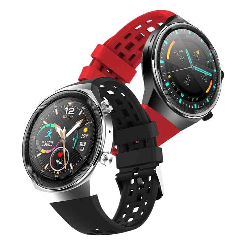 Waterproof- Bluetooth Call, Heart Rate Monitor, Smart Watch For Android