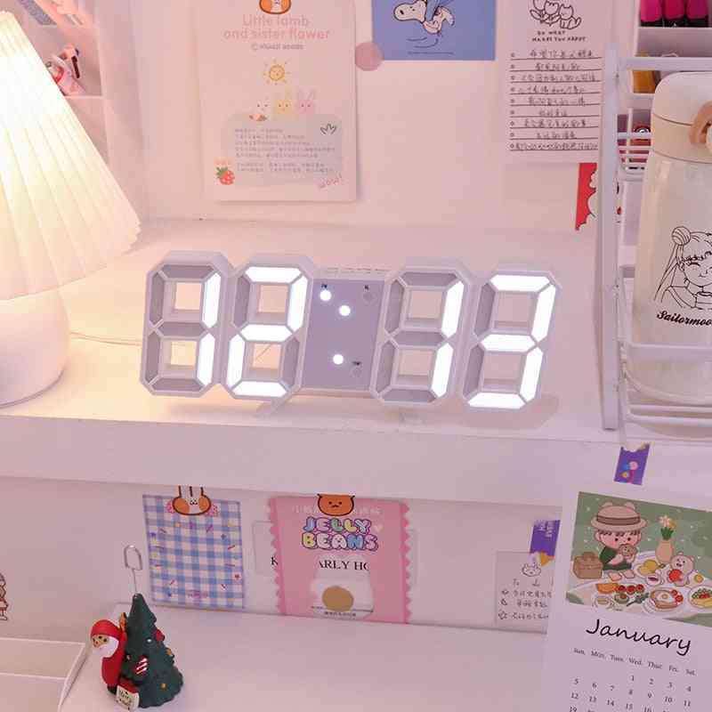 Digital Alarm Clocks, Snooze Function Table Calendar Electronic Watch