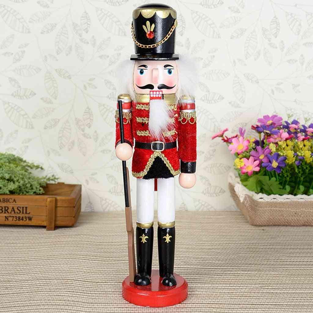 Traditional Wooden Soldier Nutcracker