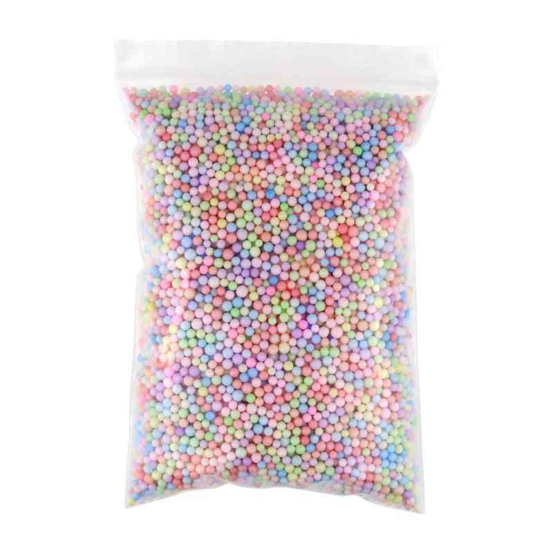 Snow Slime Balls Additives Charms / Foam Slimes Beads Filler Addition