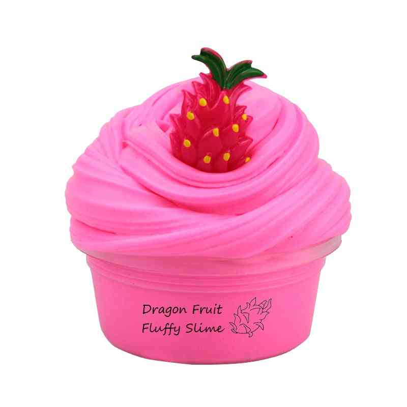 Fruit Butter Slime Fluffy Glue Charms For Slime Additives Clay Modelling Toy