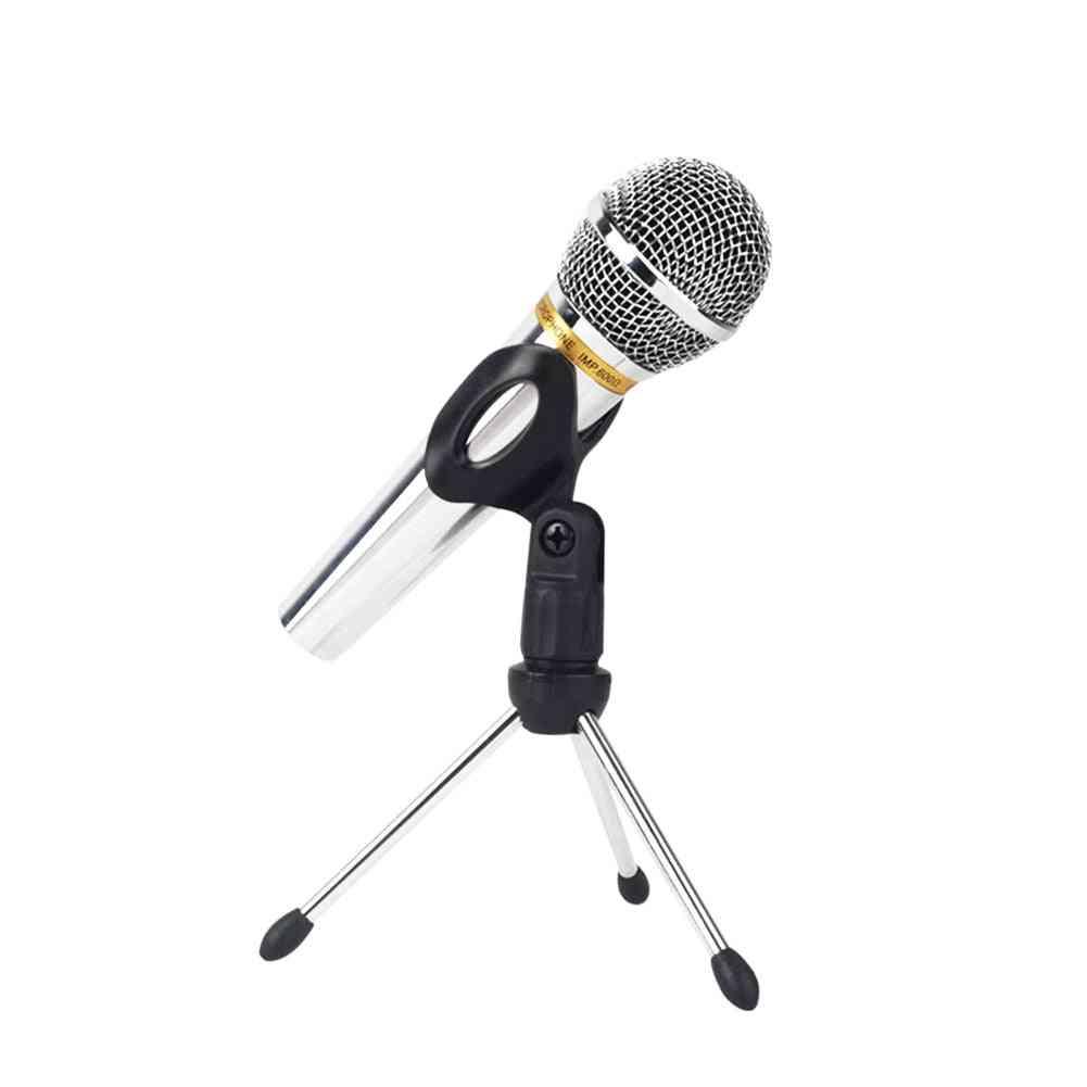 Adjustable Desktop, Table Zinc Alloy Microphone Tripod