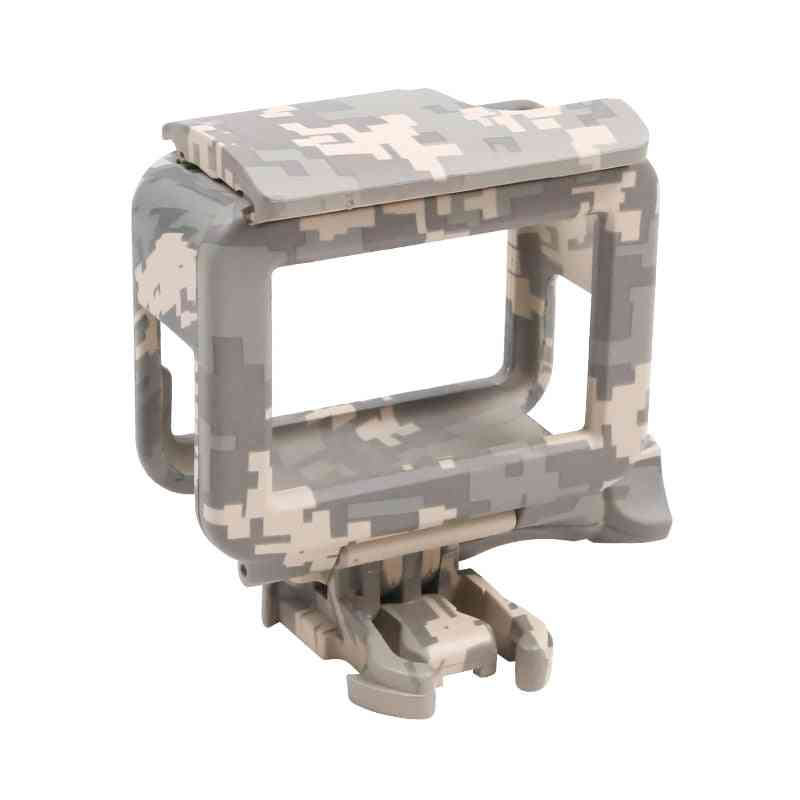 Gopro Frame Case Shell Protector Housing Army Mount Accessories