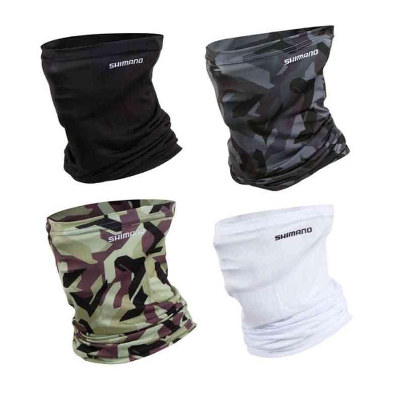Ice Fishing Scarf Mask, Uv Blocking Bandana/headwear