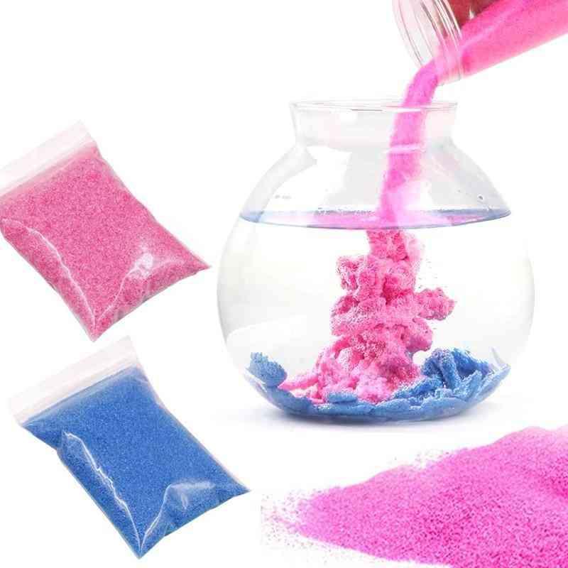 Magic Not Wet Sand, Amazing Space Slime, Molding