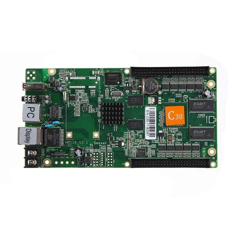 Hd-c30 Usb Asynchronous Video Full Color Led Display Controller Card