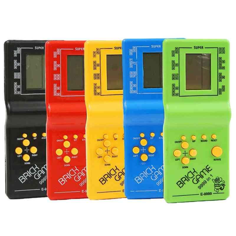Classic Handheld Machine Tetris Game Console