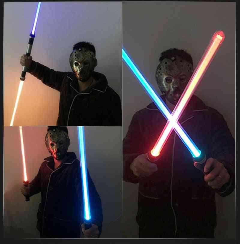 Laser Lightsaber Darth Vaders Sword Cosplay Bow  Double Light Saber Sword Sound Xmas