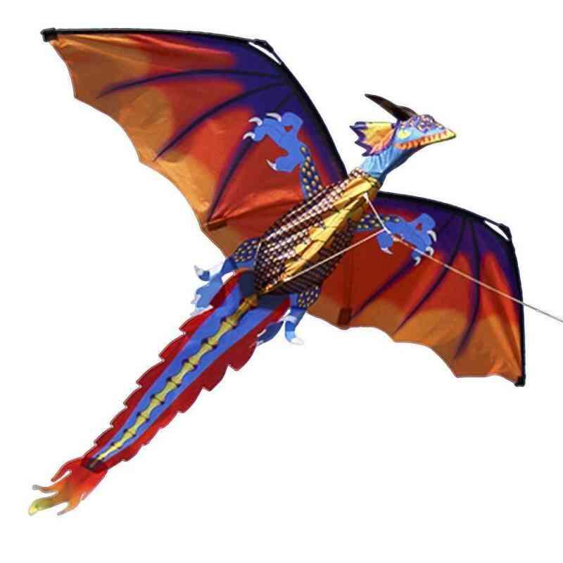 Dragon Kite Single Line With Tail Kites