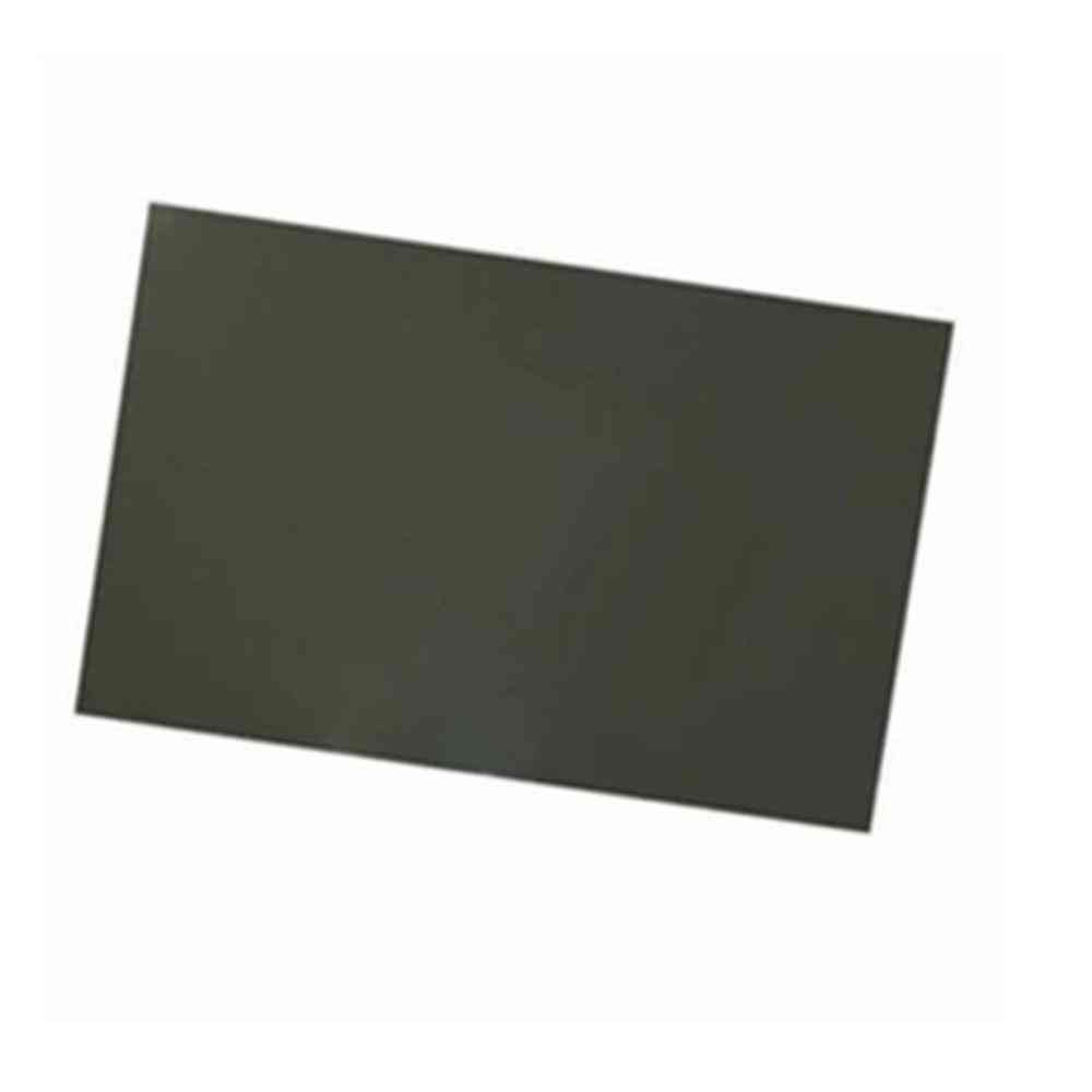 90 Degree Linear Polarizer Filter Film, Adhesive/non-adhesive Linear Lens Sheets