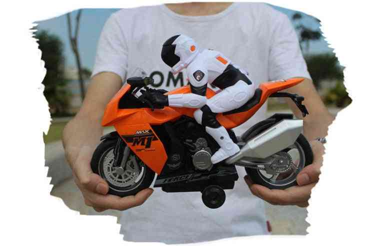 Remote Controlled- Rc Motorcycle, Super Cool Toy